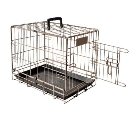 FLAMINGO Cage pour animaux Ebo Marron Métallique 47x31x38 cm 517579[1/2]