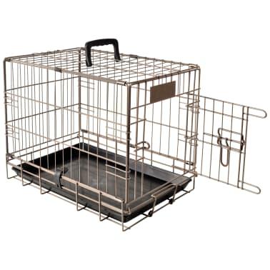 FLAMINGO Cage pour animaux Ebo Marron Métallique 47x31x38 cm 517579[2/2]