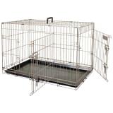 FLAMINGO Cage pour animaux Ebo Marron métallisé 61 x 43 x 50 cm 517580