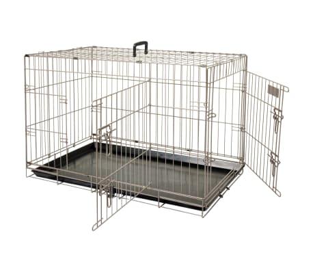 FLAMINGO Cage pour animaux Ebo Marron métallisé 61 x 43 x 50 cm 517580[2/2]