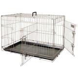 FLAMINGO Cage pour animaux Ebo Marron métallisé 77 x 47 x 55 cm 517581