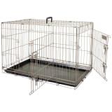 FLAMINGO Cage pour animaux Ebo Marron métallisé 92 x 56 x 64 cm 517582