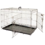 FLAMINGO Cage pour animaux Ebo Marron métallisé 109x70x77 cm 517583
