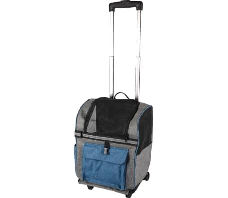 FLAMINGO 2 en 1 Chariot et sac à dos pour animaux Kiara 517743