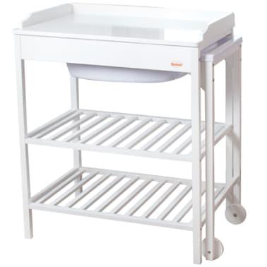 baninni bad und wickeltisch lavi holz wei bnbr006 wh g nstig kaufen. Black Bedroom Furniture Sets. Home Design Ideas