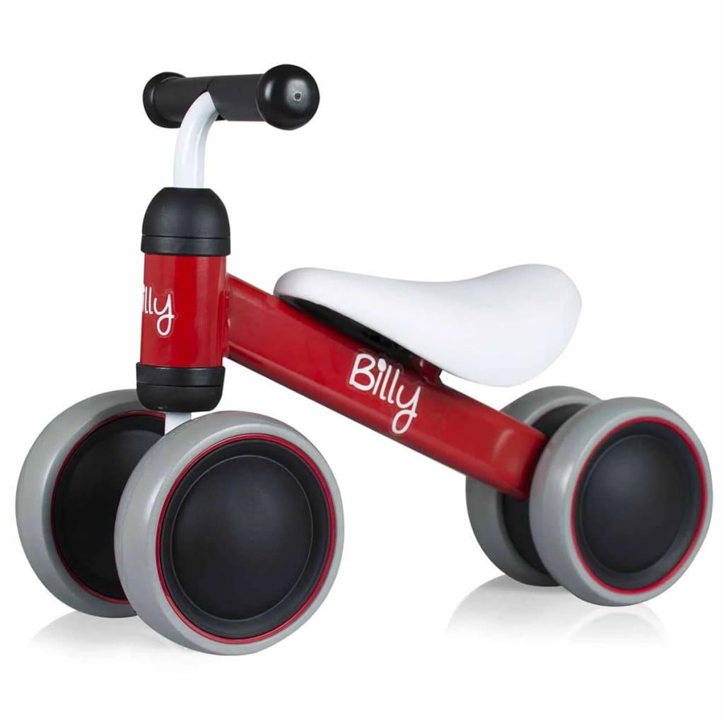 Billy Laufrad Rot Kinderlaufrad Lauflernrad Lernrad Lernlaufrad Kinderfahrrad☺