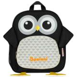 Baninni Plecak dla dzieci, sowa Frankie, 27x9x30cm, czarny, BNFK018-BK
