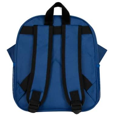 Baninni Mochila para niños Frankie búho 27x9x30 cm azul BNFK018-BL[4/5]