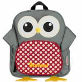 Baninni Plecak dla dzieci, sowa Frankie, 27x9x30 cm, szary, BNFK018-GY