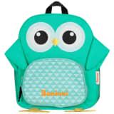 Baninni Plecak dla dzieci, sowa Frankie, 27x9x30 cm, zielony