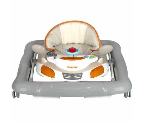 Baninni Trotteur Tontoni Orange et gris BNBW005-BGGY[3/4]