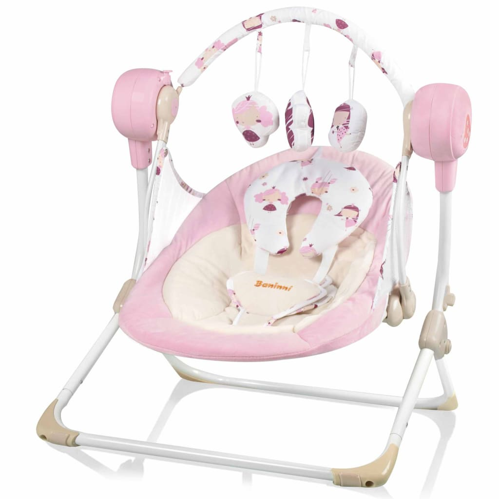 Afbeelding van Baninni Babyschommel Stellino roze BNBS003-PK