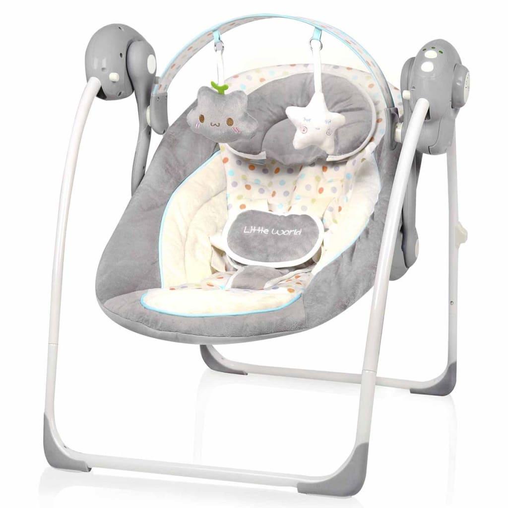 Afbeelding van Little World Babyschommel Dreamday stippen LWBS001-DTS