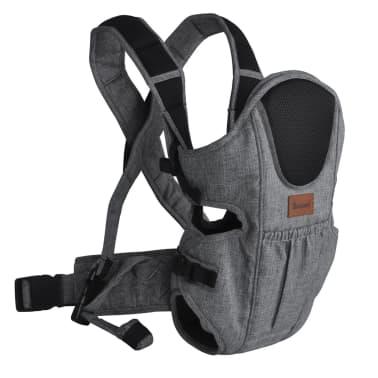 Baninni 2-in-1 Baby Carrier Sacco Prestigio Melange Grey BNBC004-GY[1/3]