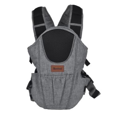 Baninni 2-in-1 Baby Carrier Sacco Prestigio Melange Grey BNBC004-GY[2/3]