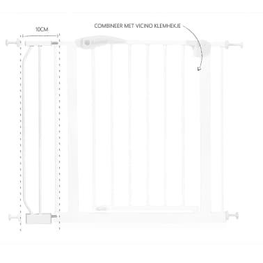 Baninni Extension de barrière de sécurité 10 cm Vicino BNSFA002-WH[3/3]