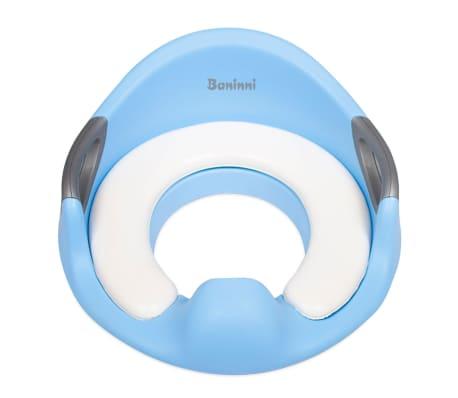 Baninni Asiento de inodoro de aprendizaje niños Buba azul BNCA007-BL