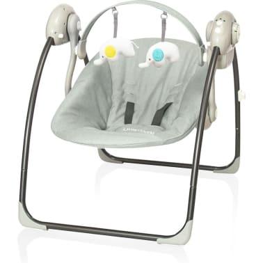 Little World Balançoire pour bébés Dreamday Mélange de gris[1/4]