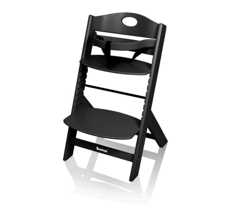 Baninni Kinderstoel Muna hout zwart
