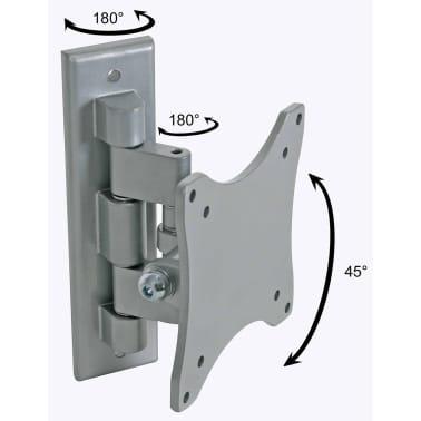 Perel Regelbarer Arm für Flachbildschirm 25 - 38 cm Silbern CWB008[1/2]