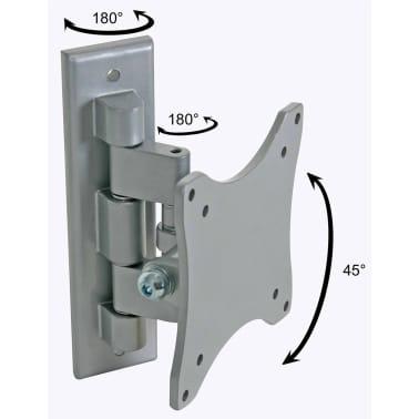 Perel Regelbarer Arm für Flachbildschirm 25 - 38 cm Silbern CWB008[2/2]