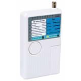 Velleman Testeur de câbles USB et réseau 5 en 1 USB Blanc VTLAN7