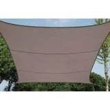 Perel Tentas nuo saulės, taupe spalvos, 3,6m, kvadratinis, GSS4360TA