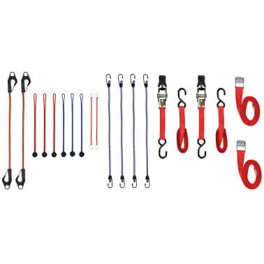 Toolland Correas de trinquete y cuerdas elásticas 20 piezas ARATS2[1/3]