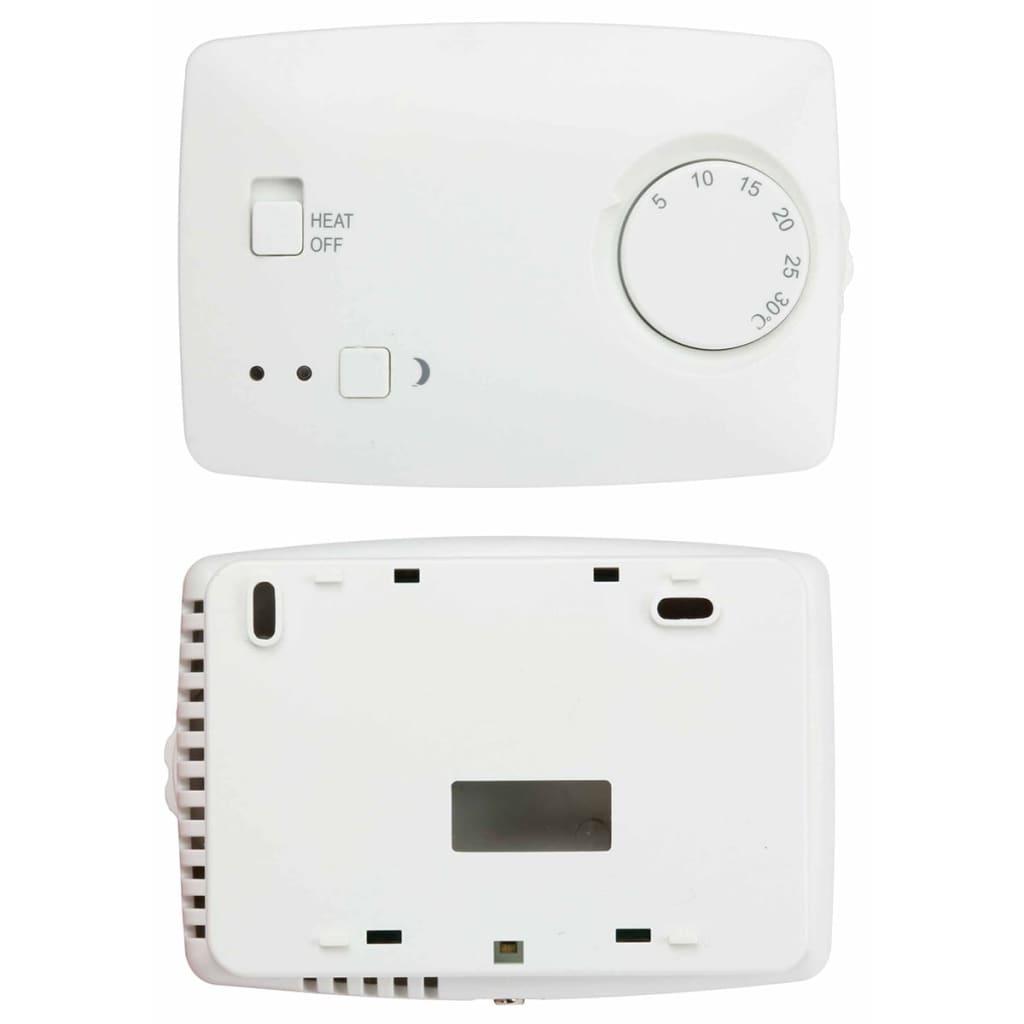 Perel Thermostat non Programmable Blanc Contrôleur Température Bureau  Maison 2