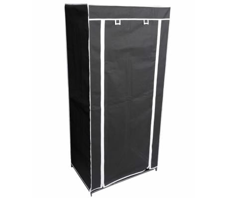 Perel Armario plegable 70x46x148 cm negro MP66[1/3]