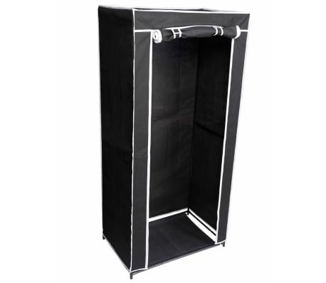 Perel Armario plegable 70x46x148 cm negro MP66[3/3]