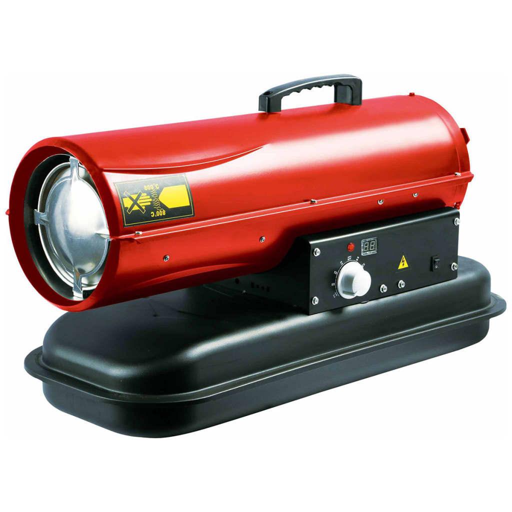 Perel Appareil de Chauffage d'Espace 20 kW Rouge Chauffage d'Appoint Chambre