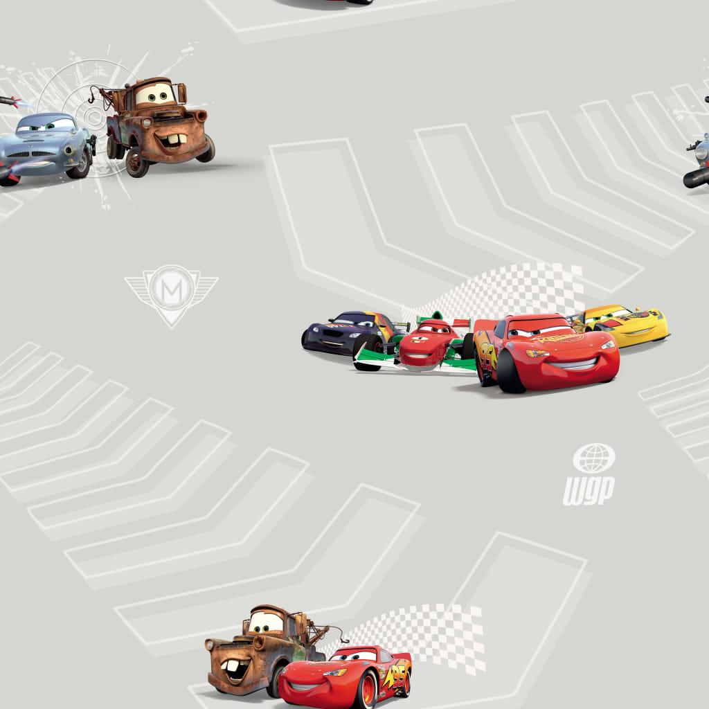 Kids at Home Tapet Cars 2, gri, maro și roșu vidaxl.ro