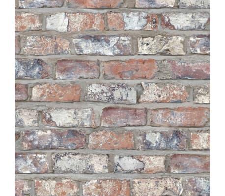 DUTCH WALLCOVERINGS Tapet, multicolor, model cărămizi, EW3103