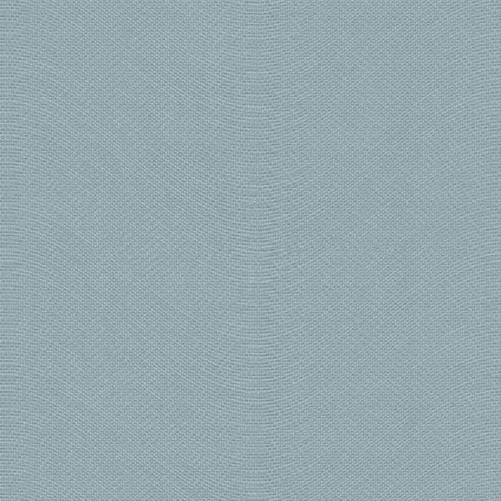 Topchic tapet strikkestil blå og sølvfarvet