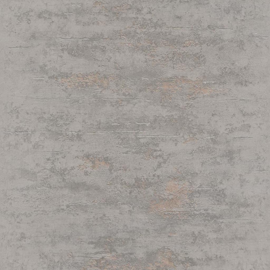 Topchic Tapet, stil beton, gri și auriu vidaxl.ro