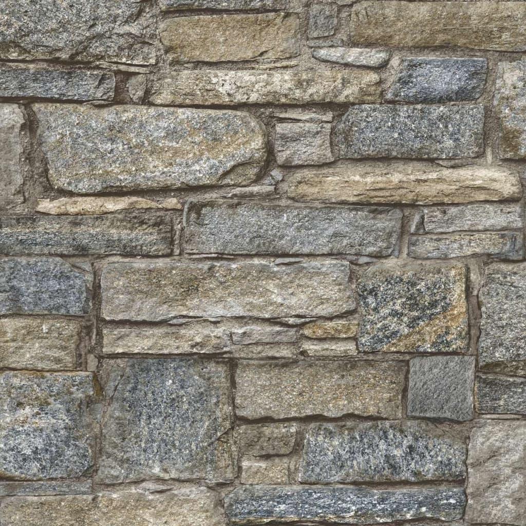 DUTCH WALLCOVERINGS tapet gamle mursten brun
