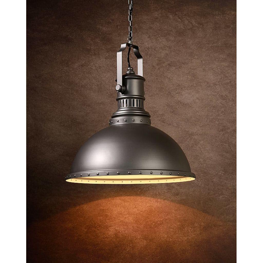 Lucide - Dumont Hanglamp - Grijs - Medium voor €58,52