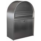 Toolland postkasse York sølvfarvet rustfrit stål BG11002