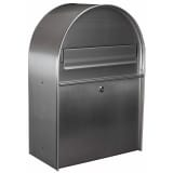 "Toolland Briefkasten ""York"" Silber Edelstahl BG11002"