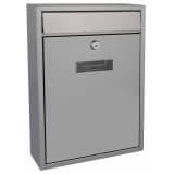 Perel Briefkasten Ibiza Silbern BG40003