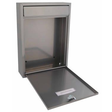 Perel Briefkasten Ibiza Silbern BG40003[2/3]