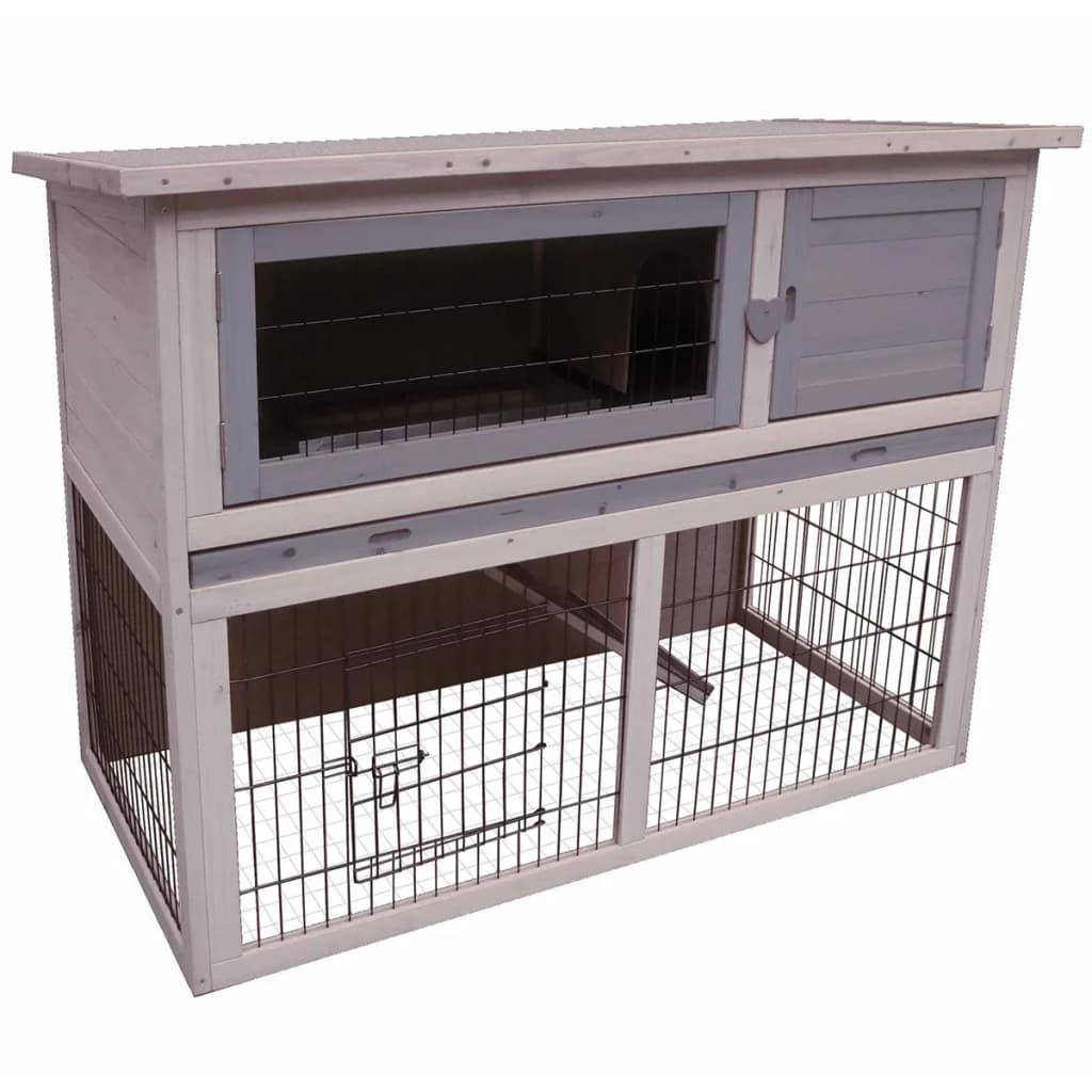 Karlie konijnenhok duplex cottage 114x60x90 cm