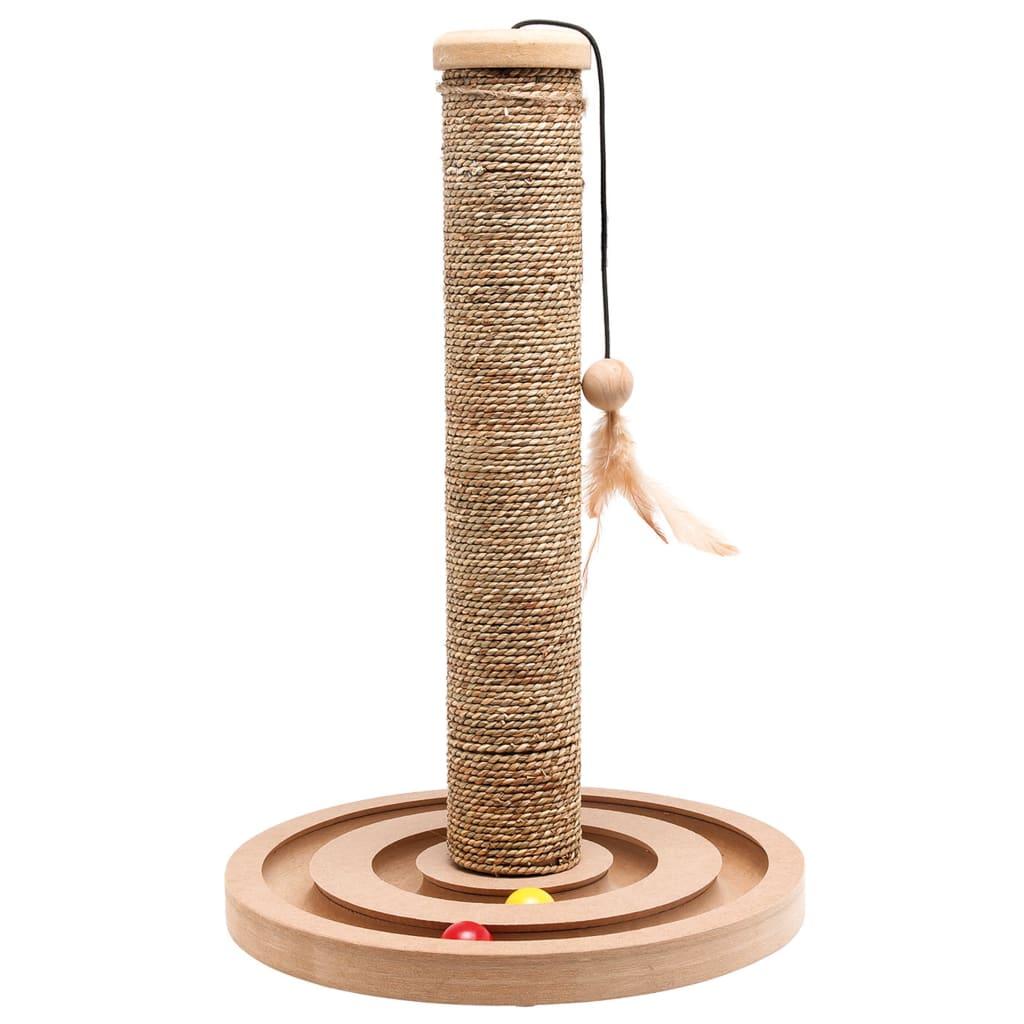 FLAMINGO Kattenkrabpaal met ballenspel Brigitte 30x44 cm 560146