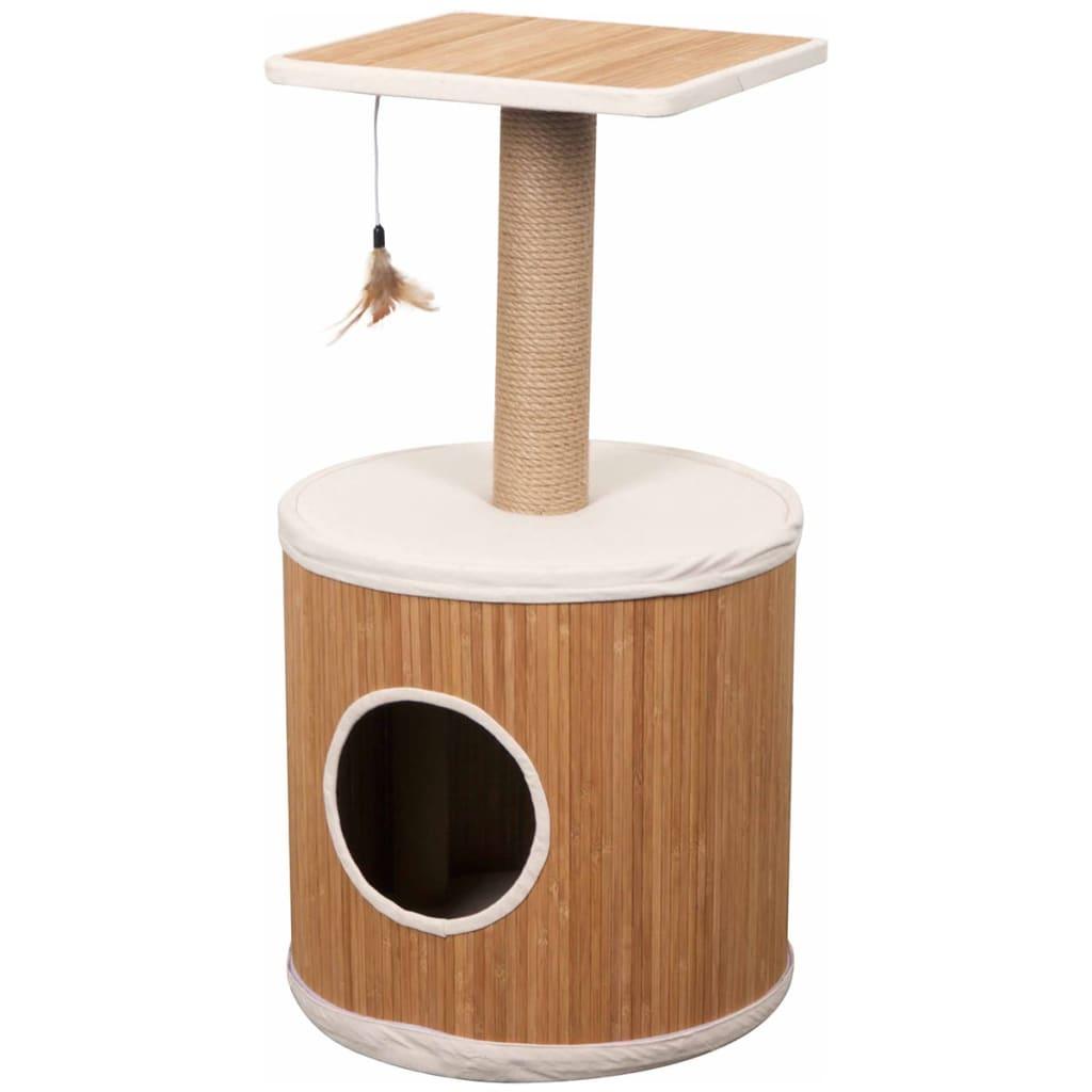 Afbeelding van FLAMINGO Katten krabpaal Bamboo bruin 77 cm 560376