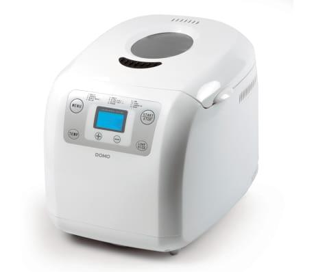 acheter domo machine pain automatique 600 w blanche b3985 pas cher. Black Bedroom Furniture Sets. Home Design Ideas