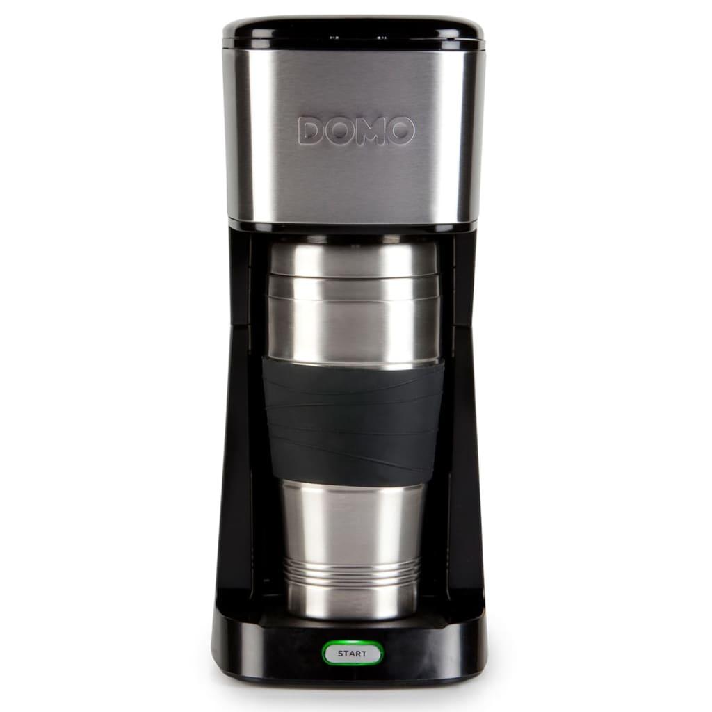 Afbeelding van DOMO 2-in-1 Koffiezetapparaat 650 W zwart DO437K