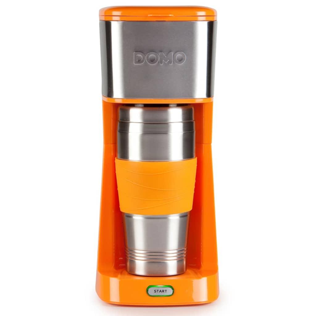 Afbeelding van DOMO Koffiezetapparaat 2-in-1 650 W oranje DO439K