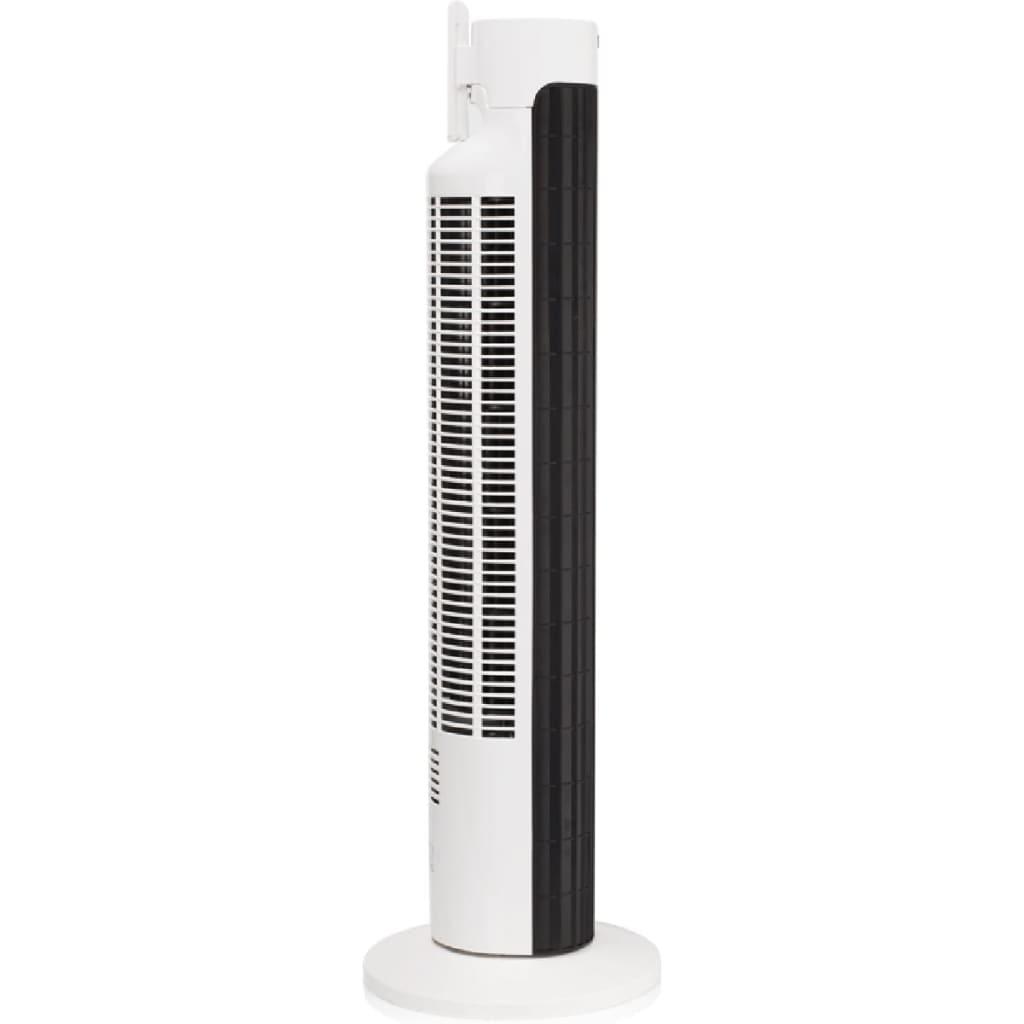 DOMO Věžový ventilátor 77 cm 45 W, černo-bílý DO8126