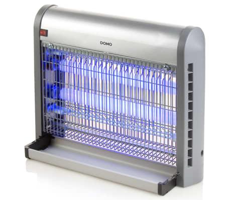 DOMO Lámpara antimosquitos con luz UV 20 W 2500 V plateada[4/6]